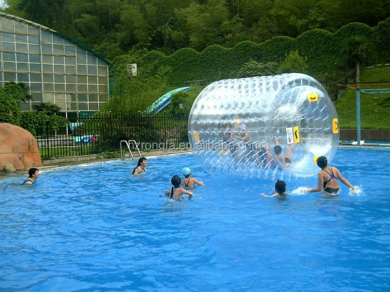 customized walk on water ball, inflatable water roller ball
