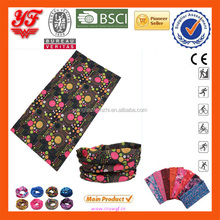 Wholesale Multifunctional Custom Welcome Seamless Neck Gaiter 100% Polyester 8 Years Export Manufactuer Tube Bandana