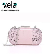 Ladies Fancy Bags For Rhinestone Box Evening Clutch Evening Bag Cosmetic Bag With Crystal