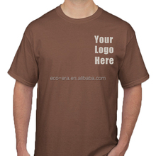 Promotional Products Custom Printed T shirts With Logos Brands Pima Cotton T shirt Wholesale To Market Your Business
