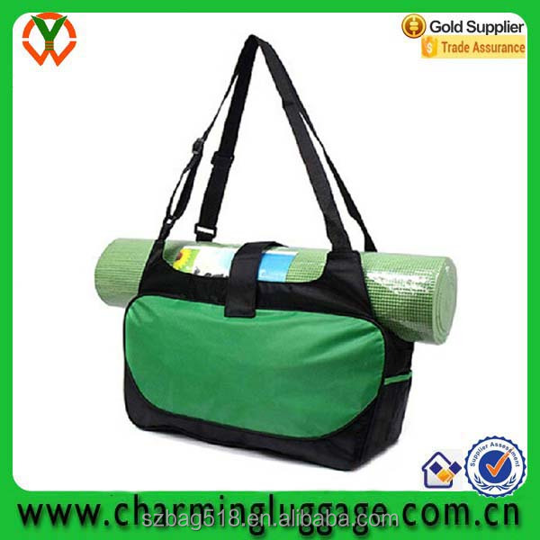 wholesale custom waterproof yoga mat bag with your own logo
