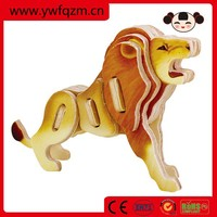 Factory direct promotional custom 3d jigsaw puzzle