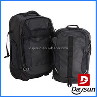 Extra large two bags travel trolley laptop bag with laptop compartment