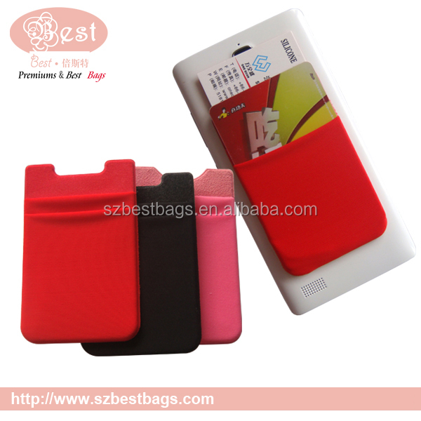 RFID blocking cell phone case credit card holder