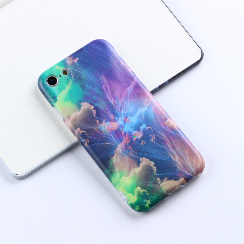One dollar sample marble cases private label phone accessories ShenZhen mobile phone shell TPU for iPhone 6 / 7 case covers