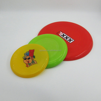 Plastic frisbee promotional for dog