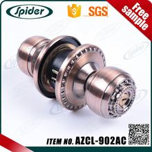Low price fast delivery zinc alloy cylindrical handle lock