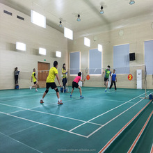 PVC Sports Floor Indoor for Badminton Court, Ping-Pong, Futsal, Tennis Ball, Volleyball, Basketball, Gym, Dancing Room
