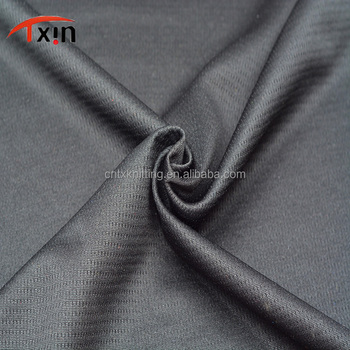 factory price polyester double layer fabric for sportswear, knitting weft bag fabriic