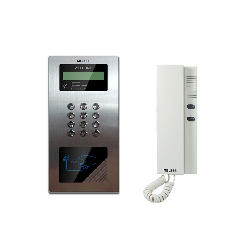 Picture memory apartment video door phone intercom system with recorder