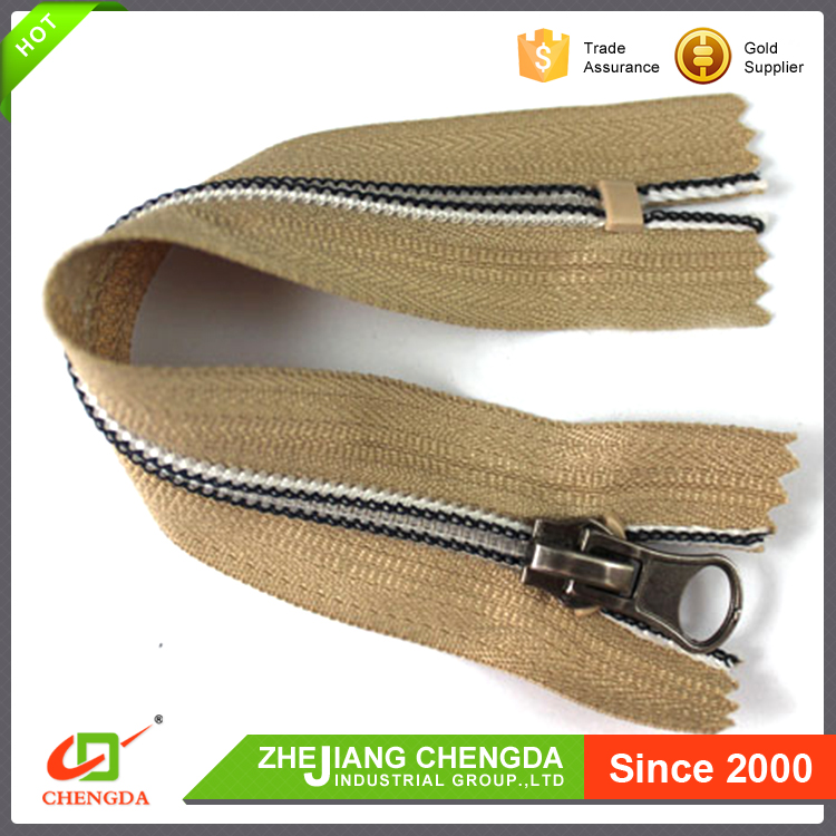 CHENGDA Low Price No.3 Oeko-Tex Standard 100 Long Chain Nylon Zipper Rolls