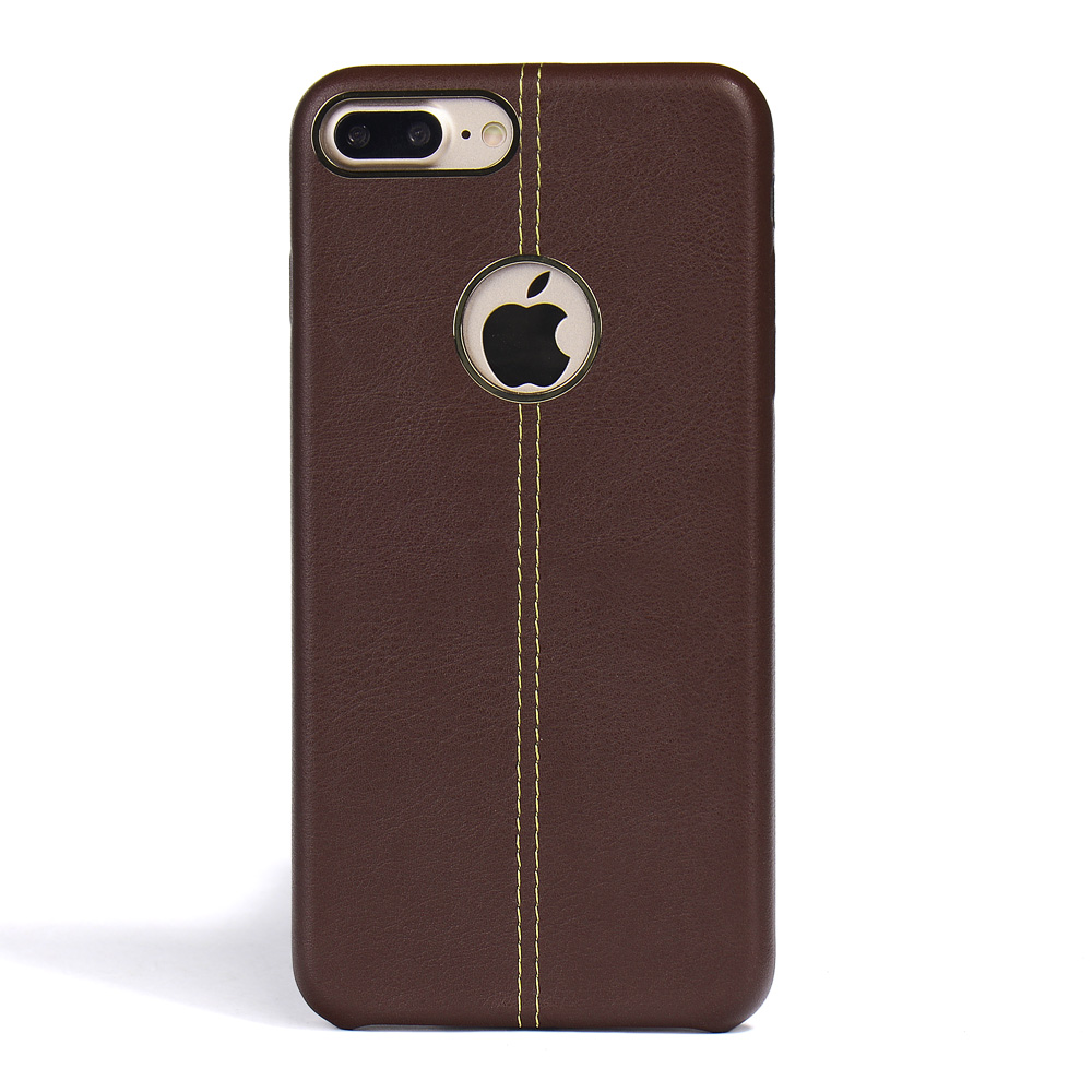 For iPhone 7 Case, Simple Color PU Leather Back cases for iphone 7 and 7 plus