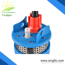 Singflo 12/24V high pressure solar powered dc solar water pump for deep well/deep bore well submersible water pump