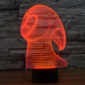 supplier custom made colorful ghost lamp led night light/customized plastic toy night light for sale