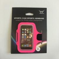 Popular Hot Sale Armband Case for iPhone Retail Packing