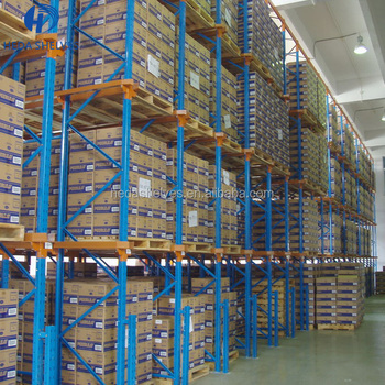 China factory high quality metal powder coating warehouse storage pallet rack