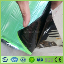 China good quality cheap double sides self adhesive roof felt/self adhesive bitumen waterproof membrane