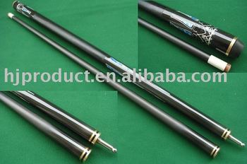 Wholesale Beautiful Design Cheap Black Billiard Pool Cues