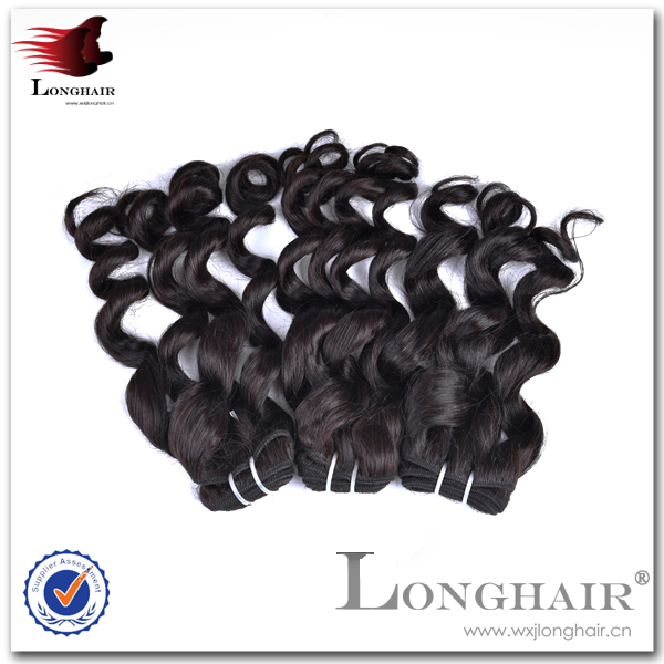 Hair Weave Distributors Wave Chocolate Color 100% Indian Human Hair Weft