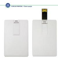 Business card and credit CARD USB Flash Drive 1GB 2GB 4GB 8GB 16GB 32GB