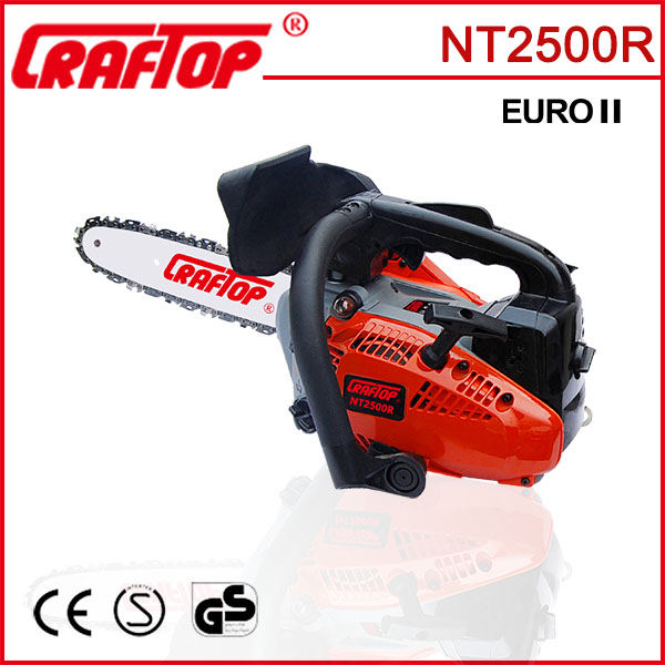 25cc gasoline mini chain saw 2500 for home use