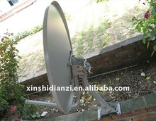 ku band 60cm steel solid tv dish satellite antenna