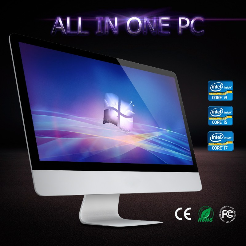 "Reliable fast speed for 18.5"" 19"" j1900 inch ALL-IN-ONE PC computer for core duo 2.0ghz"