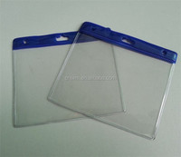 Popular Factory Supply Cheap transparent soft plastic credit card holder