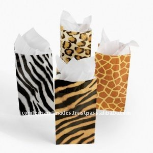 Animal Theme Paper Bags for Cakes and Pastries