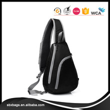 Light-weight Polyester Sling Shoulder Bags For Men