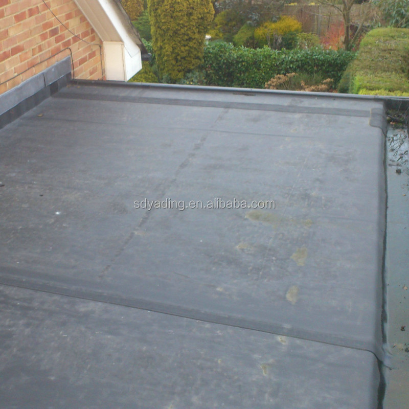 black EPDM lowes rubber roofing from China