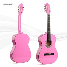 36 inch small classical guitar cheap price color guitar