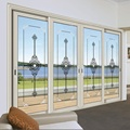 Sliding Soundproof Luxury Exterior Patio Lowes Glass door