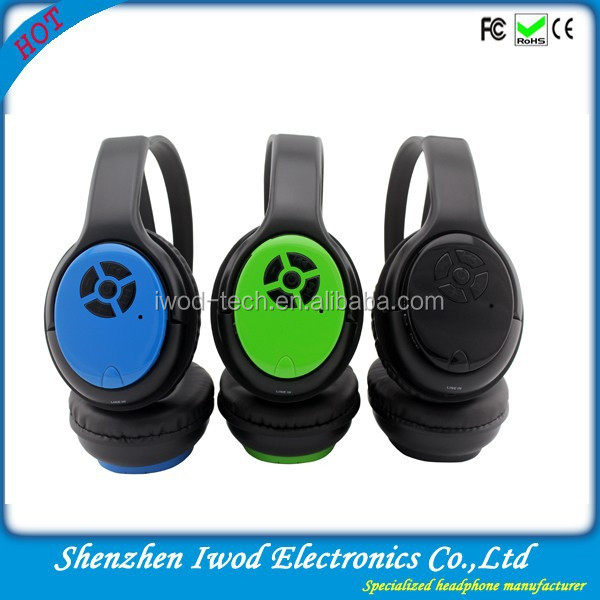 Imported China headphone bluetooth colour headphone stereo for iphone 5g 5s ipod