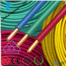 RoHS/CE certificated H05V-U bendable lighting Cable systems wire