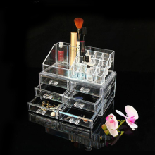 Wholesale Acrylic Cosmetic Makeup Organizer with 6 Drawers
