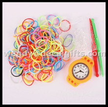 crazy hot selling cheapest DIY loom watch for children
