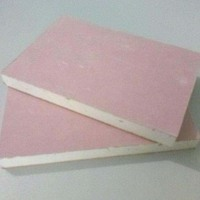 low price pink red gypsum ceiling and drywall board