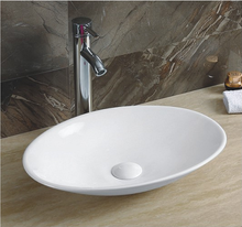 YJ9022 Bathroom art sanitary wares sink ceramic round bathroom face basin