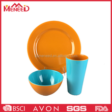3 pcs household melamine dinnerware set china ware