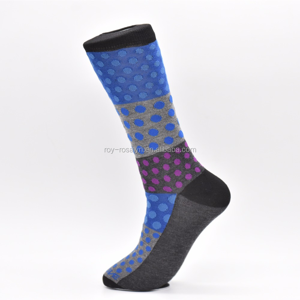 Top quality wholesale custom dotted design socks
