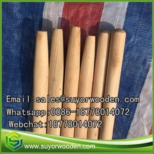 Smooth Straight Natural Natural Wooden Poles Broom Handle Stick