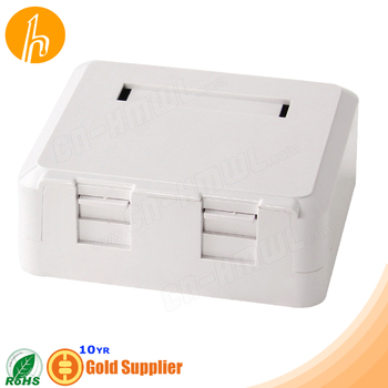 Dustproof RJ45 RJ11 Surface Box