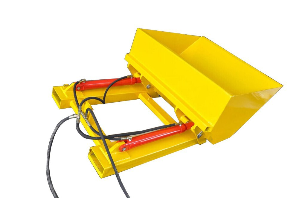 Hydraulic Forklift Bucket with 180 degree tilt function