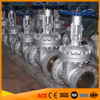 API CE Certification flanged connection WCB SS CF8M Gate Valve DN150