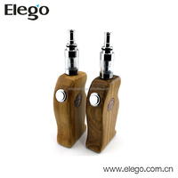 Unique design e pipe vape mod vaporizer k600 beautiful wood box mod