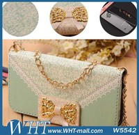Lace Handbag for Samsung Galaxy S4 Leather Case Wallet Purse Luxury New Deisgn