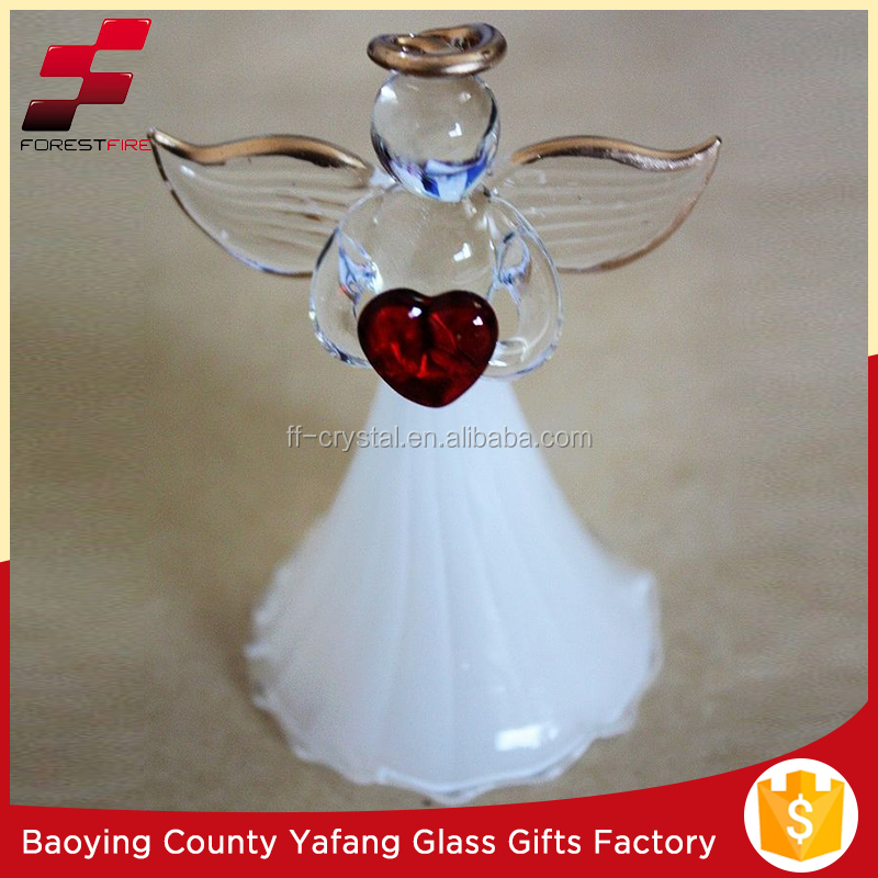 Spun Glass Xmas Angel FF-G10020,-022