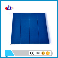SGS Certification outdoor basketball courts rubber flooring