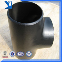 Astm A234 Wpb Butt Welded Pipe Tee Joints